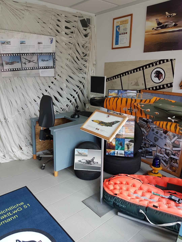 Eingangsbereich mit TORNADO-Simulator