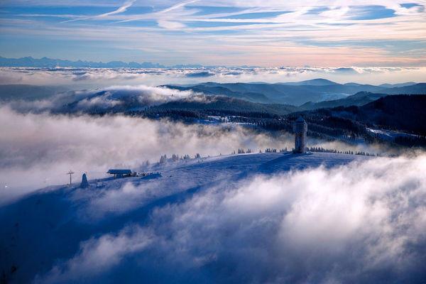 Traumhafte Wintermomente auf dem Feldberg