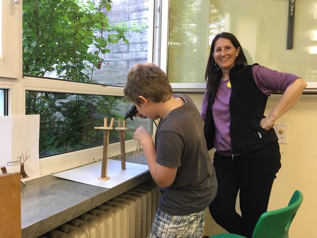 Projektwoche Pausenhofgestaltung - Grundschule Burgkunstadt