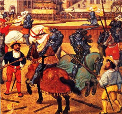 экскурсия из Барселоны, рыцарский турнир