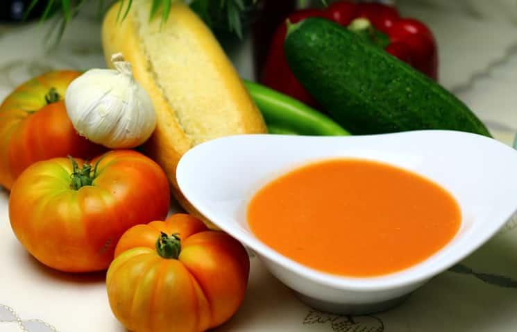 Какие супы едят в Испании летом