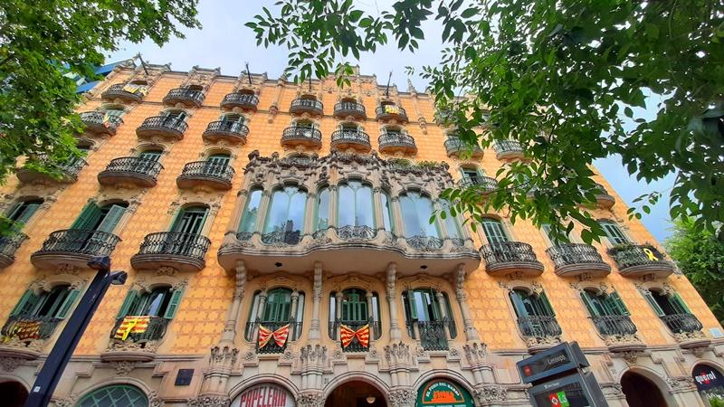 Модерн в Барселоне - Касас Рамос