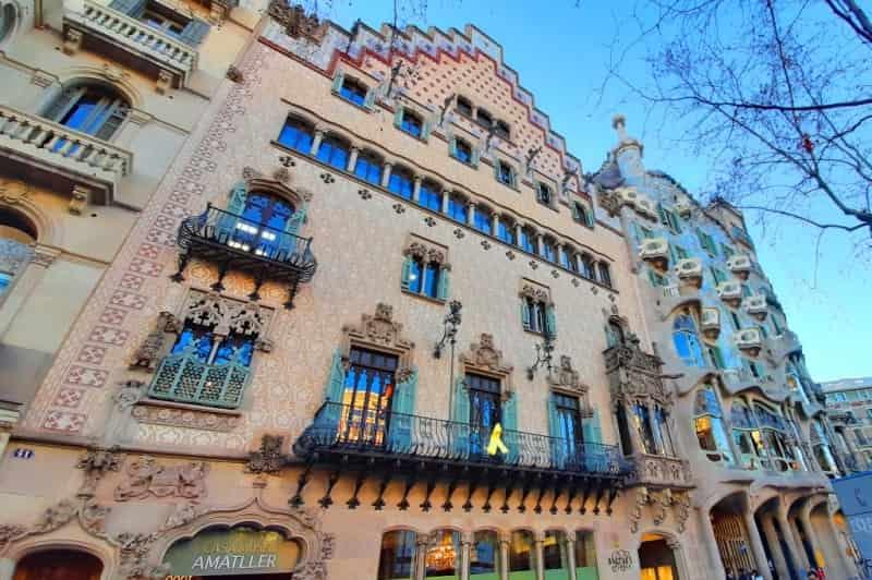 Дом Амалье - шоколад Амалье в Барселоне