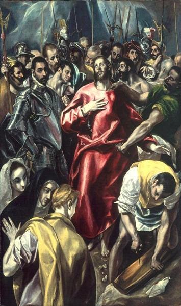 Совлечение одежд с Христа - Эль Греко, ТОП-10