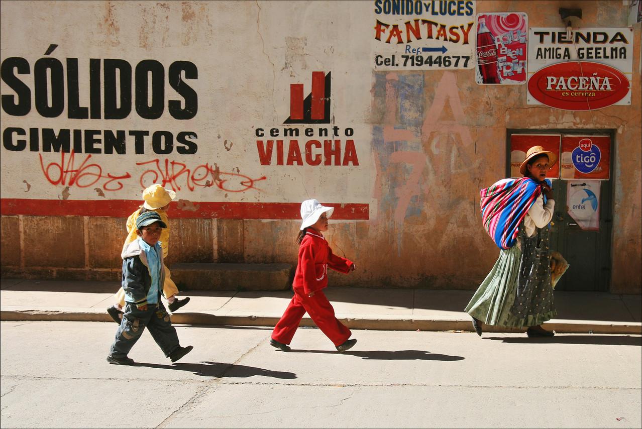 Roland Soul-Gamins de Bolivie