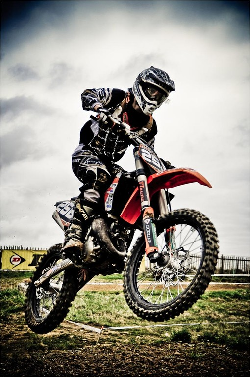 Moto cross - Simeon Fabien