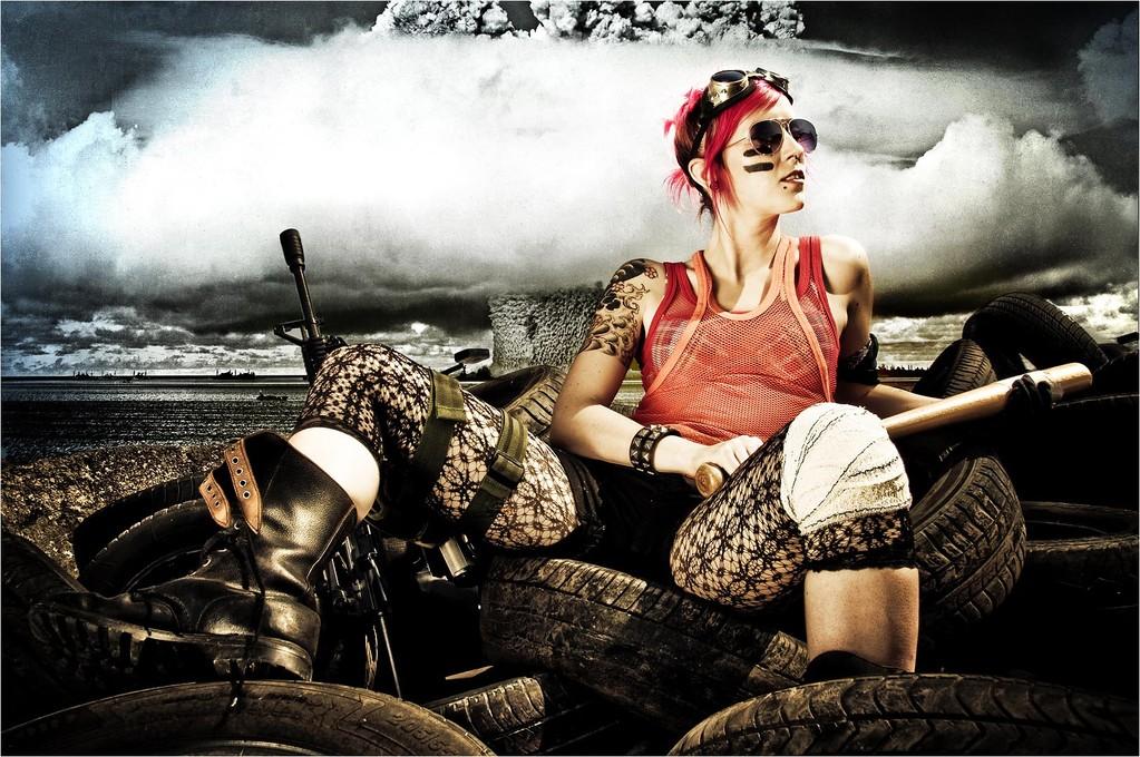 Girl tank - Simeon Fabien