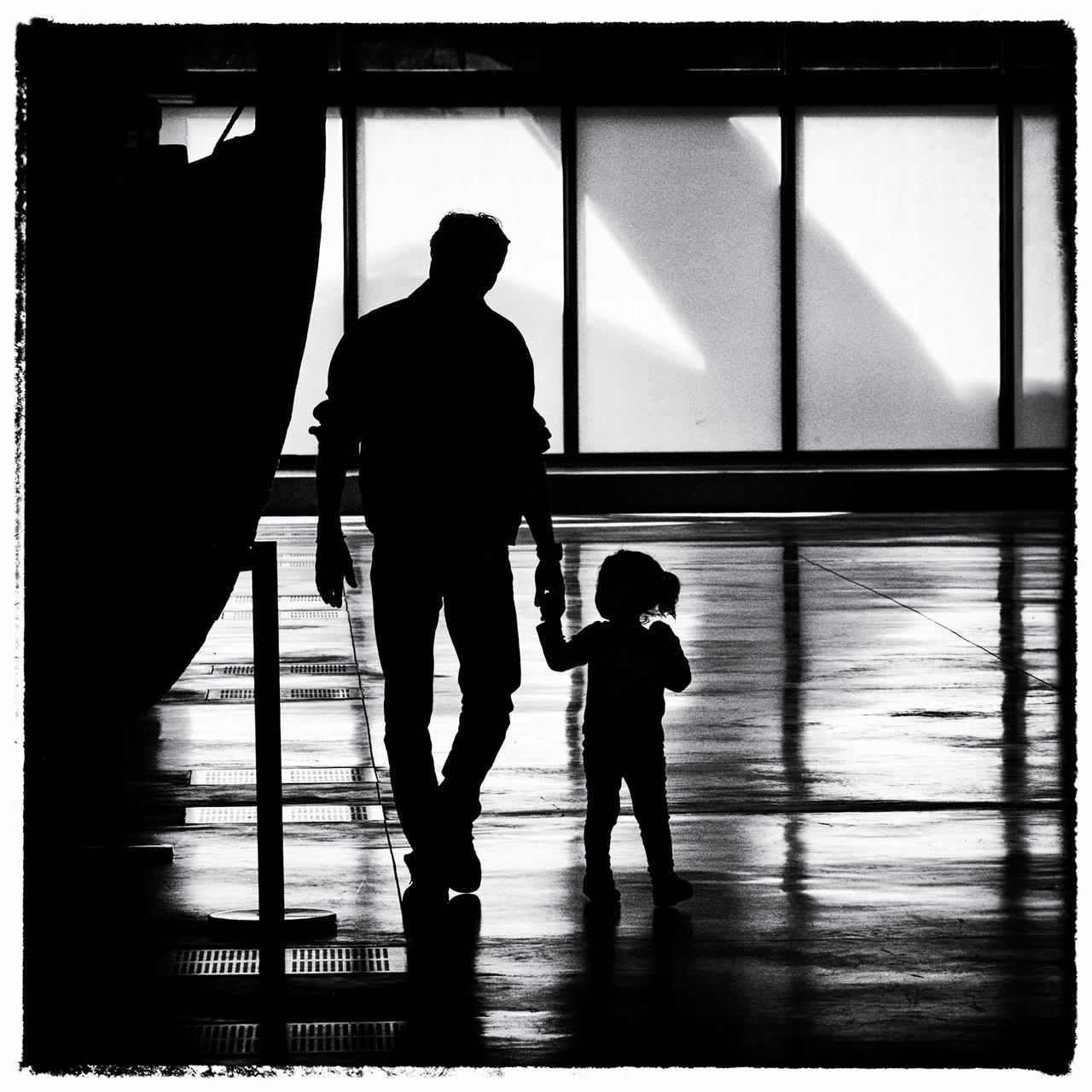 Laurent Scelles-L'homme à l'enfant