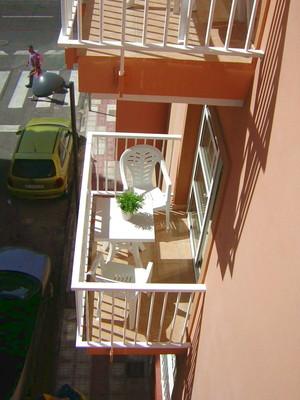 Balkon vor dem