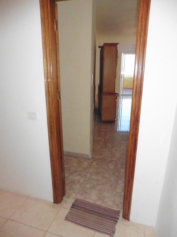 Eingang zum 1. Apartment