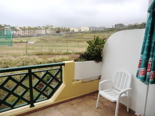 Bild: Blick von dem Balkon des Apartments am Playa Jardin in die Landschaft von Puerto de la Cruz.