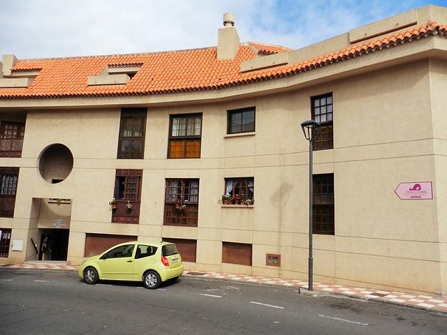 Blick auf das Wohngebäude