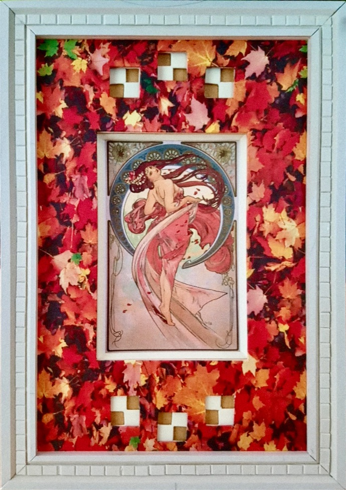 Andrée C. Peinture de Alphonse Mucha