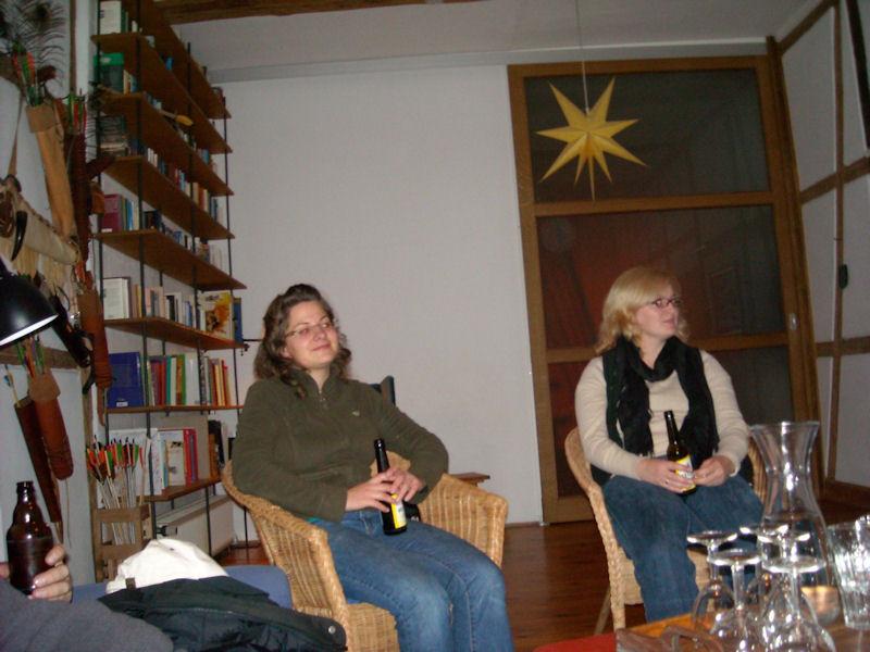 Maren und Jessica...