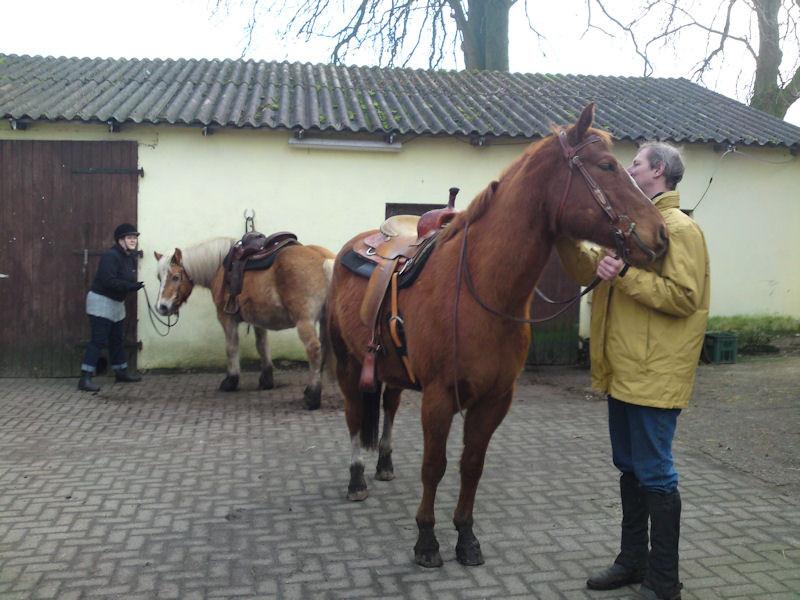 16. Januar, wieder Chestnutfarm - Gutes wiederholt sich gern  ;-)