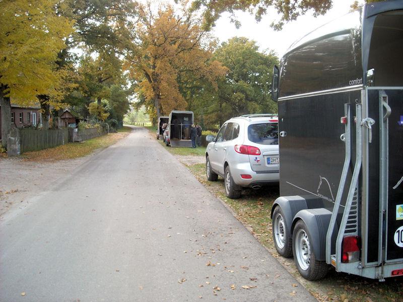 Ankunft in Sahrendorf