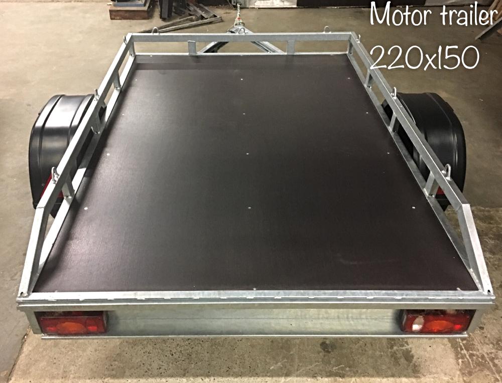 Motor trailer 220 x 150