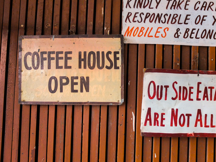 Indian Coffee House, New Delhi - © François Struzik - simply human 2015