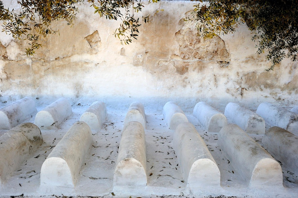 The architecture of Fès UNESCO heritage Medina - Jewish cemetery © François Struzik - simply human 2015