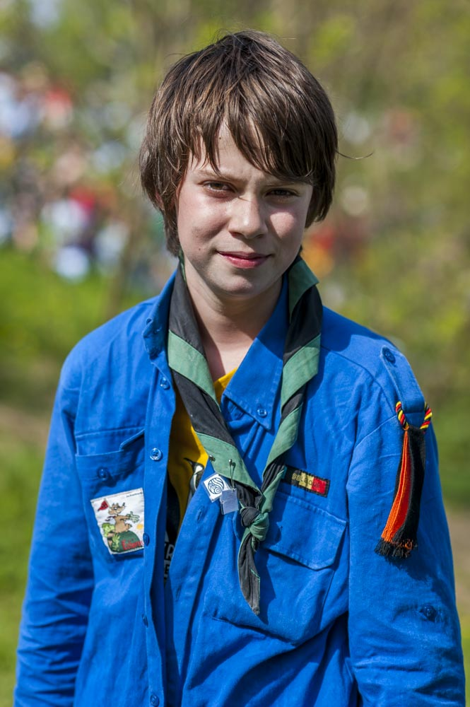 Humans of Scout - Be Scout - Les Scouts  © François Struzik - simply human 2018