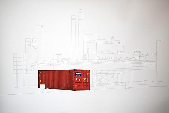 Containers en Transit - dessin#4