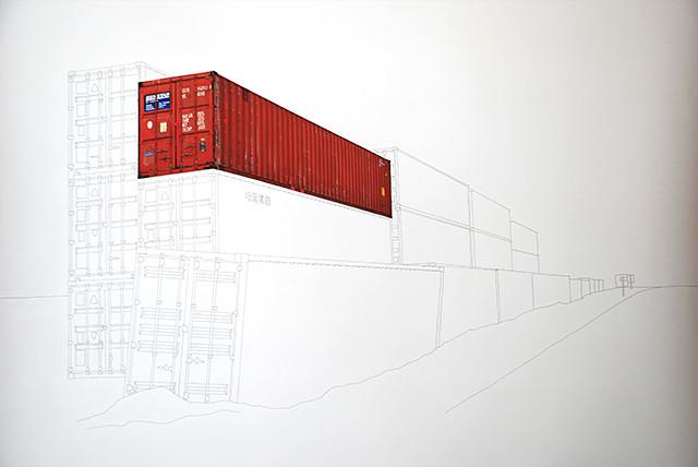 Containers en Transit - dessin#2