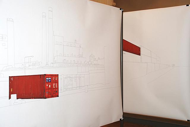 Containers en Transit, Domaine de Fontblanche, Vitrolles, 2009
