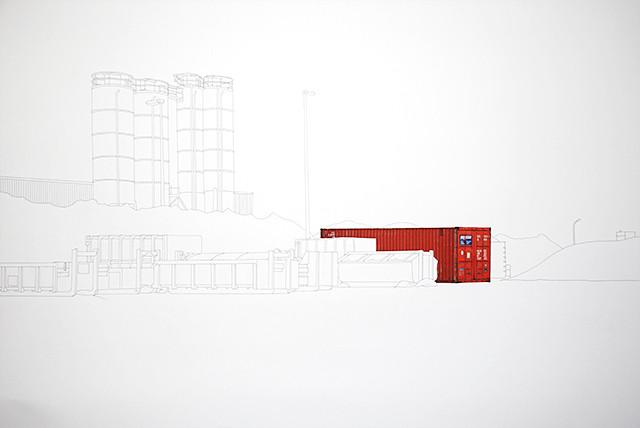 Containers en Transit - dessin#1
