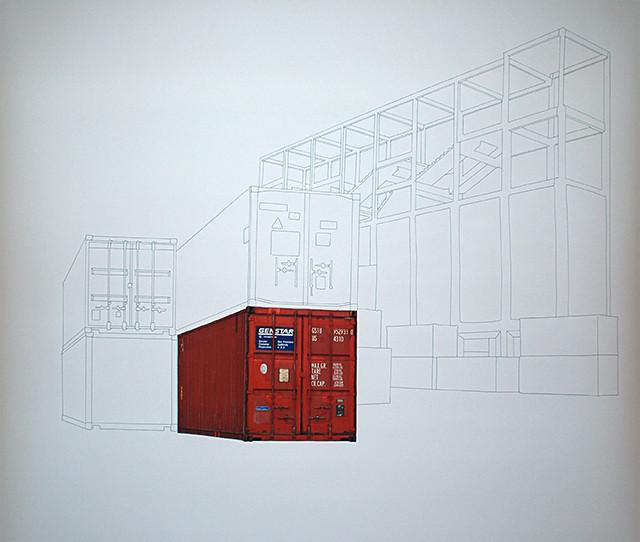Containers en Transit - dessin#3