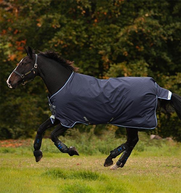 Horseware Amigo Bravo 12 100g Übergangsdecke Regendecke Outdoordecke Weidedecke