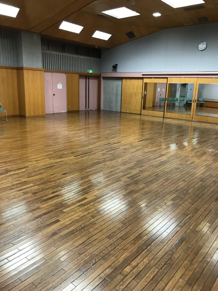 桜丘ホール(こっちも広い!)