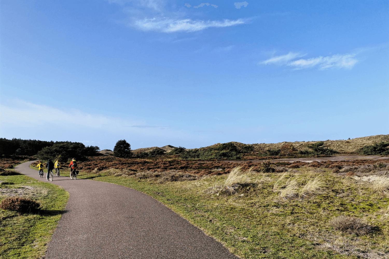 Eine Radtour in den Schoorlser Dünen...