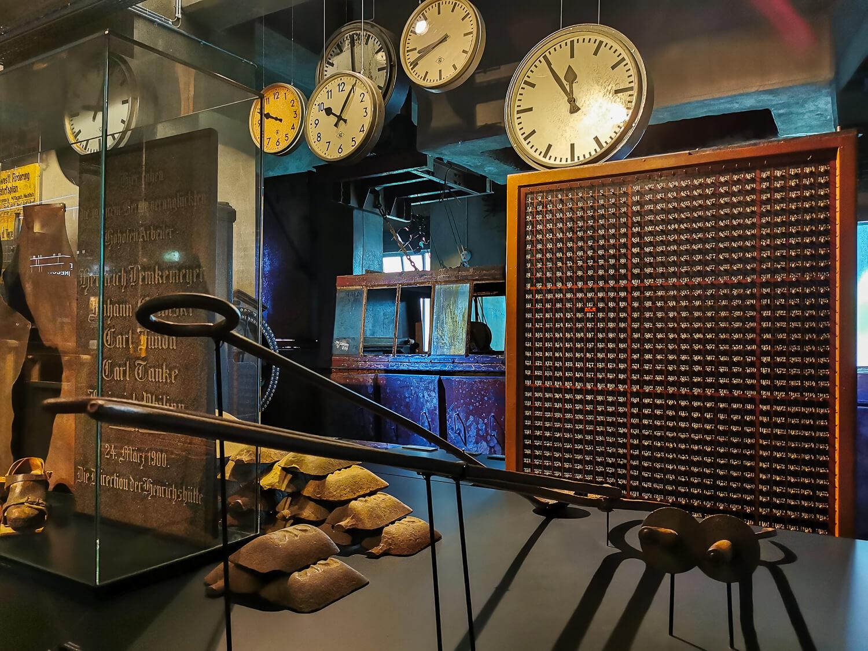 Die Ausstellungen sind in den alten Produktionsräumen