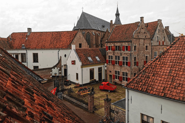 Im Bäckereimuseum könnt ihr auch einen Blick über die Dächer der Stadt erhaschen