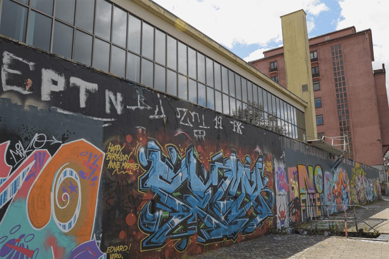 Graffiti am Baneveien