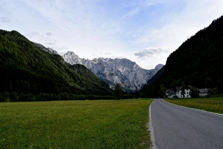 Das Gletschertal Logarska Dolina