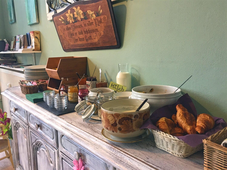Frühstücksbuffet im Café Neo
