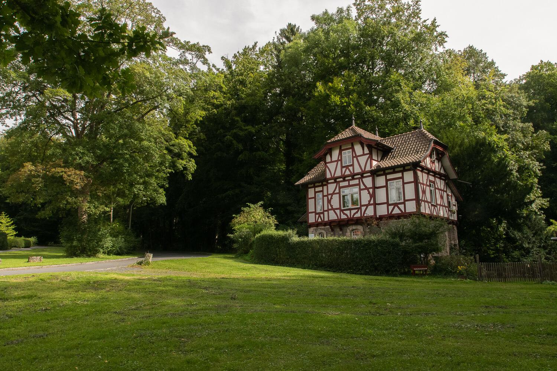 Fachwerkhaus bei den Schillerwiesen