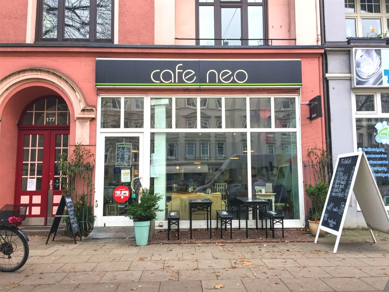 Café Neo in Winterhude