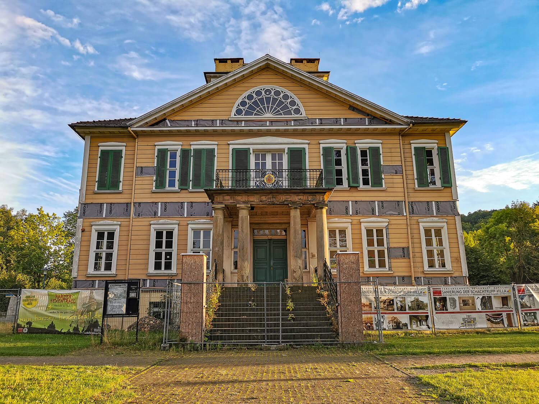 Die Schlachtrupp-Villa am Kurpark