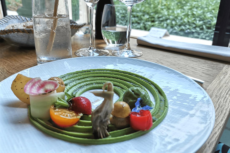 Brokkoli-Pesto mit Gemüse