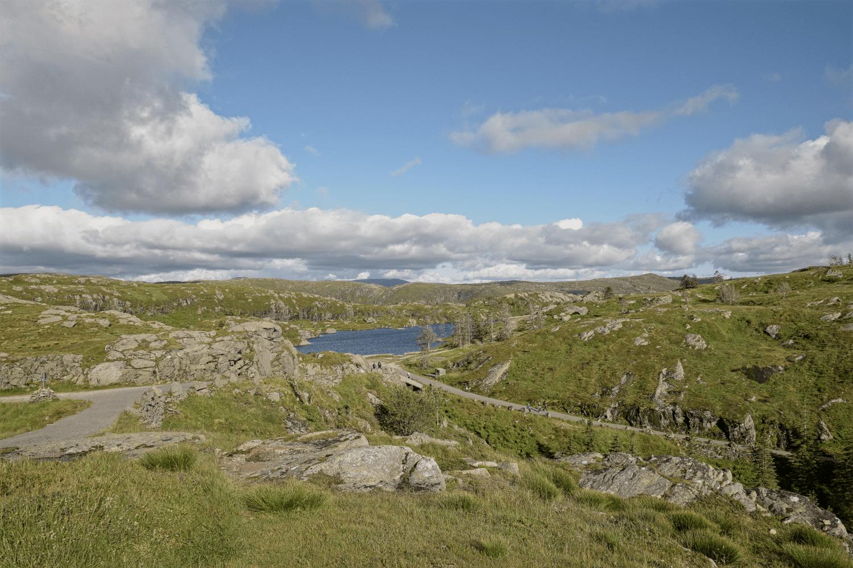 Auf dem Plateau des Fløyen