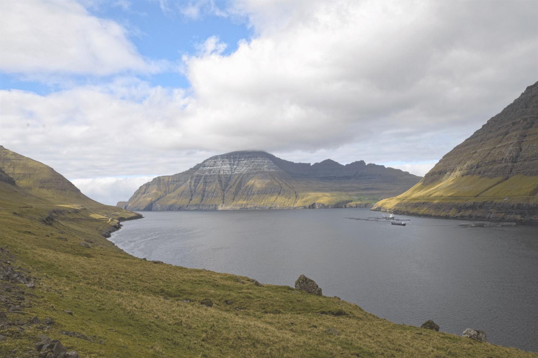 Das Kliff Enniberg...