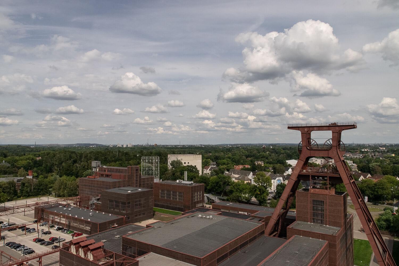 Zeche Zollverein von oben