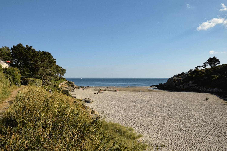 Der Strand von Anse de Rospico