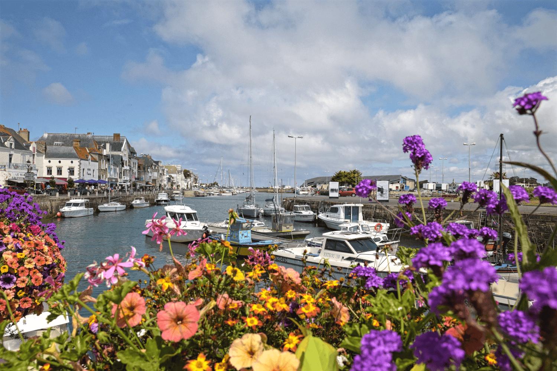 Der kleine Hafen von La Croisic