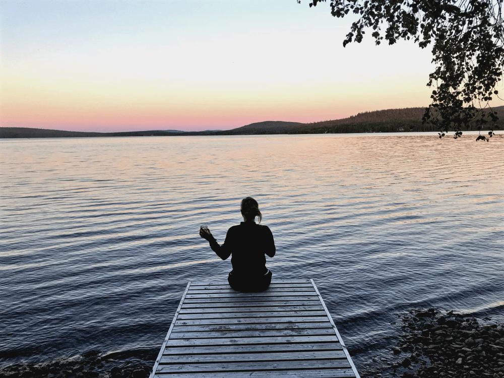 Natur, Ruhe & eine Sonne, die nicht untergeht