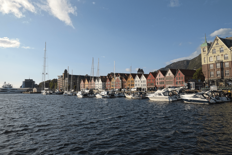 Tyske Bryggen - die Skyline von Bergen
