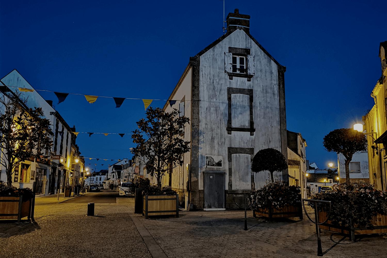 Abends in La Turballe