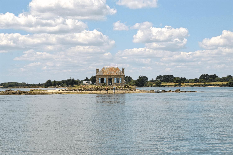 Das bekannte Fotomotiv der Île de Saint-Cado